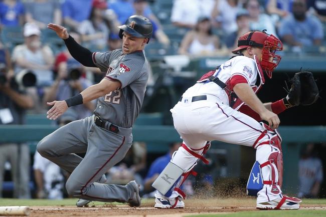 Texas Rangers vs. Arizona Diamondbacks - 7/28/20 MLB Pick, Odds, and Prediction
