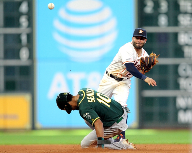 Oakland Athletics vs. Houston Astros - 8/15/19 MLB Pick, Odds, and Prediction