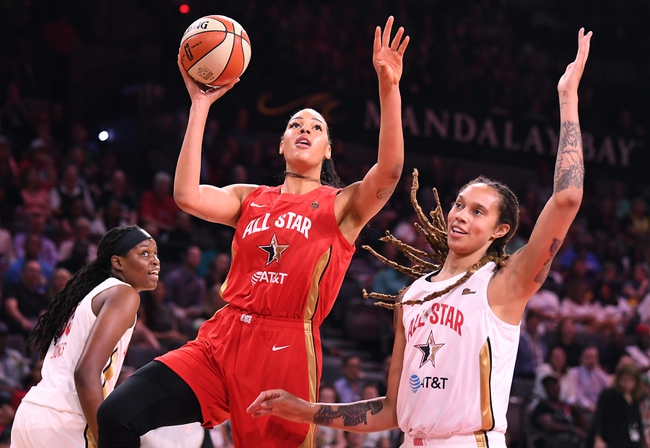 Phoenix Mercury vs. Los Angeles Sparks - 7/25/20 WNBA Pick, Odds, and Prediction