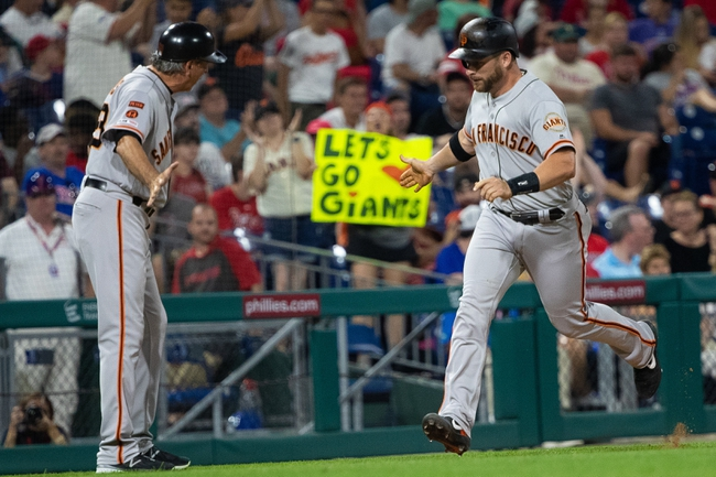 Philadelphia Phillies vs. San Francisco Giants - 7/31/19 MLB Pick, Odds, and Prediction