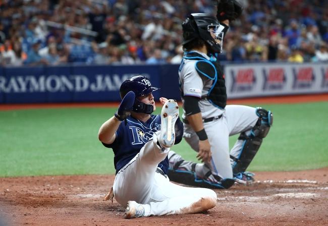 Tampa Bay Rays vs. Miami Marlins - 8/4/19 MLB Pick, Odds, and Prediction