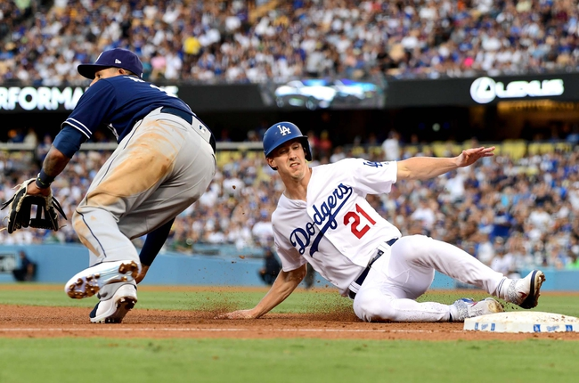 Los Angeles Dodgers vs. San Diego Padres - 8/4/19 MLB Pick, Odds, and Prediction
