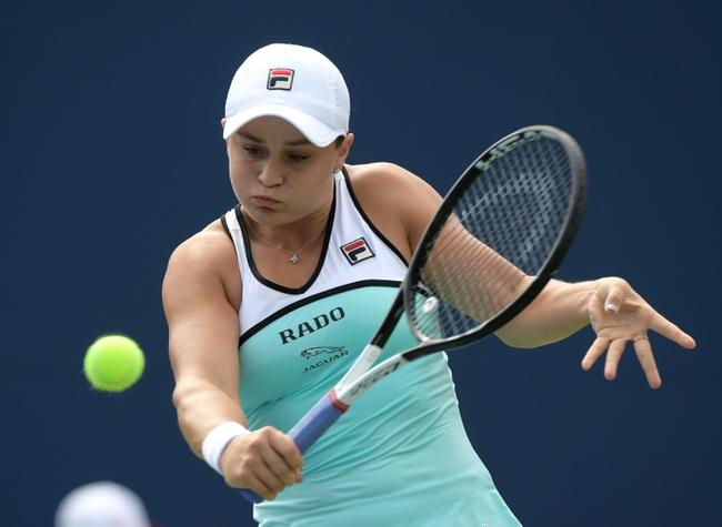 Ashleigh Barty vs. Maria Sharapova - 8/14/19 Cincinnati Open Tennis Pick, Odds, and Prediction