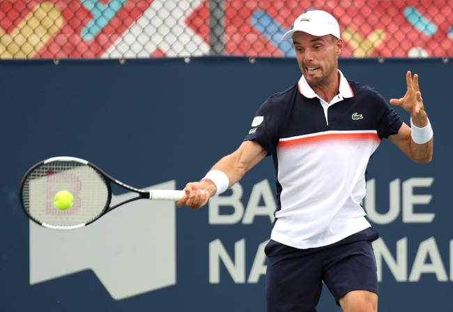 Roberto Bautista Agut vs. Richard Gasquet - 8/8/19 Rogers Cup Tennis Pick, Odds, and Prediction