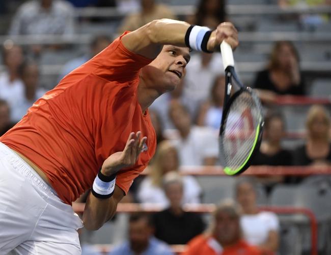 Cedrik-Marcel Stebe vs. Milos Raonic - 2/19/20 Delray Beach Open Tennis Pick, Odds, and Predictions