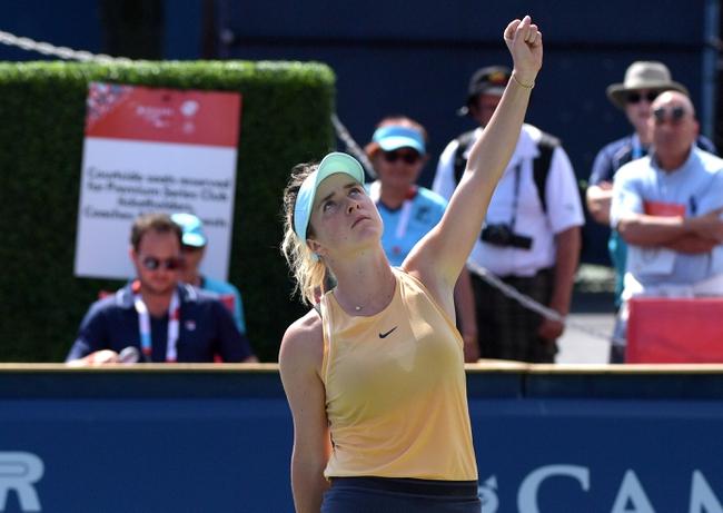 Sofia Kenin vs. Elina Svitolina - 8/9/19 Rogers Cup Tennis Pick, Odds, and Prediction