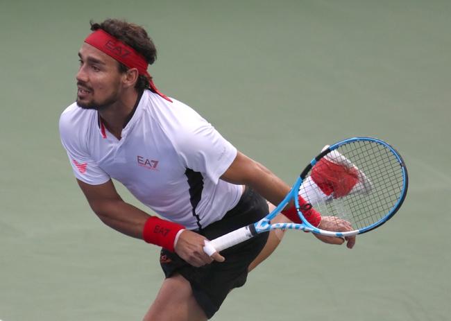 Daniil Medvedev vs. Fabio Fognini - 10/11/19 Shanghai Masters Tennis Pick, Odds, and Prediction