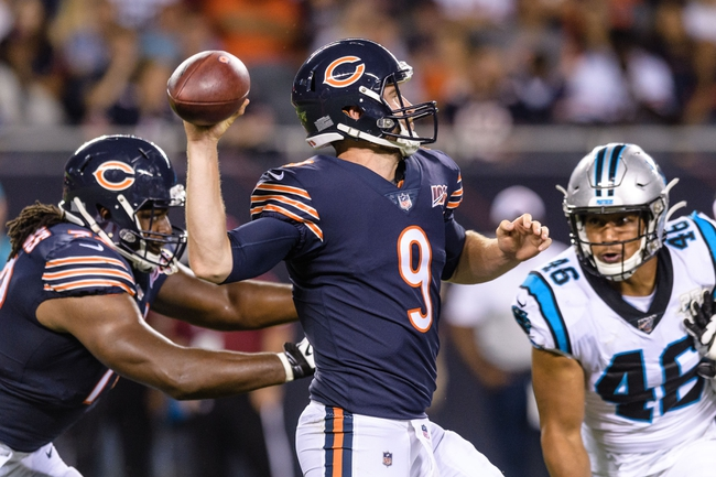 Tony T's Bears at Panthers NFL ATS SIde 10-18-2020