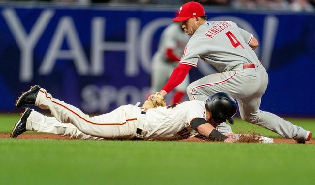 San Francisco Giants vs. Philadelphia Phillies - 8/9/19 MLB Pick, Odds, and Prediction