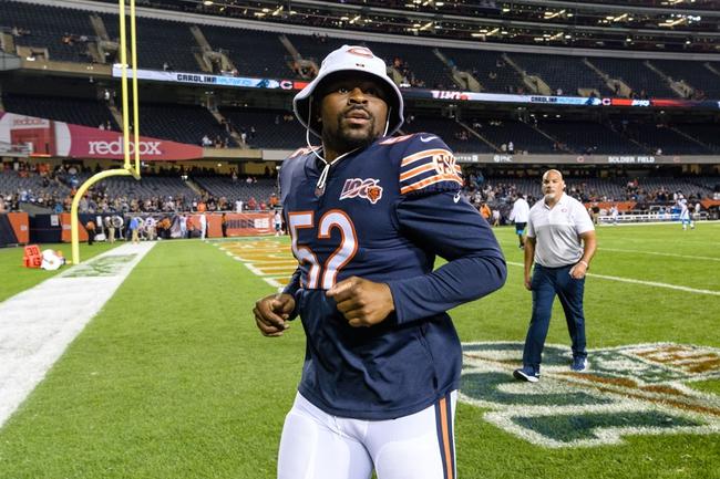 Chicago Bears at Carolina Panthers 10/18/20 NFL Picks and Predictions