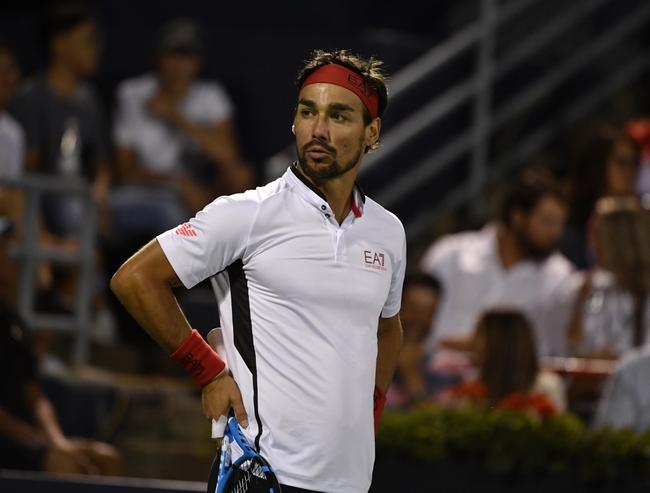 Karen Khachanov vs. Fabio Fognini - 10/10/19 Shanghai Masters Tennis Pick, Odds, and Prediction