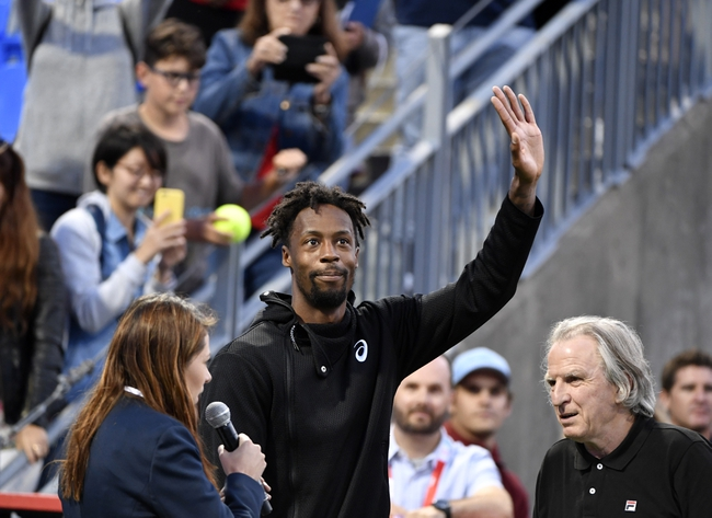 Gael Monfils vs. Daniel Evans - 2/14/2020 Rotterdam Open Tennis Pick, Odds, and Prediction