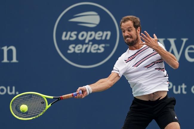 Diego Schwartzman vs. Richard Gasquet - 8/15/19 Cincinnati Masters Tennis Pick, Odds, and Prediction