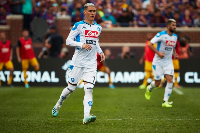 Parma vs. Napoli at Ennio Tardini in midweek round 35 in Serie A