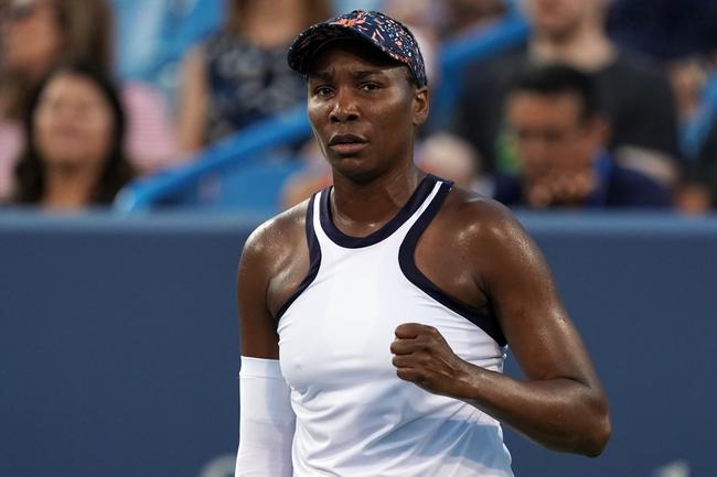 Venus Williams vs. Saisai Zheng - 8/26/19 US Open Tennis Pick, Odds, and Prediction