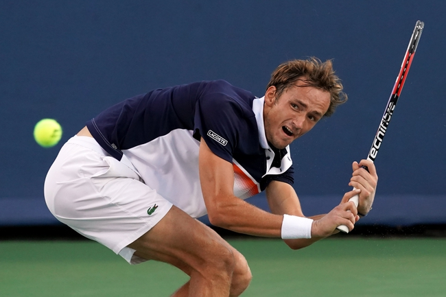 David Goffin vs. Daniil Medvedev - 8/18/19 Cincinnati Open Tennis Pick, Odds, and Prediction