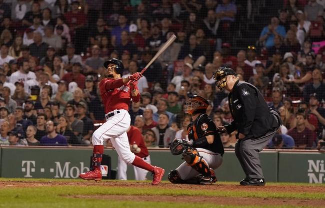 Boston Red Sox vs. Baltimore Orioles - 8/17/19 MLB Pick, Odds, and Prediction