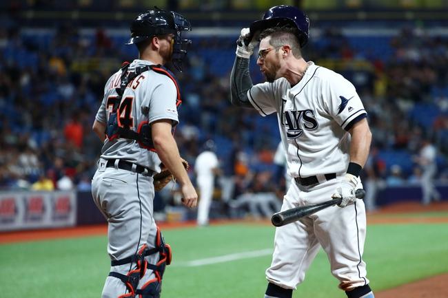 Tampa Bay Rays vs. Detroit Tigers - 8/17/19 MLB Pick, Odds, and Prediction