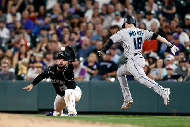 Colorado Rockies vs. Miami Marlins - 8/17/19 MLB Pick, Odds, and Prediction