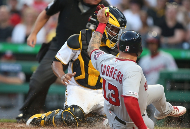 Pittsburgh Pirates vs. Washington Nationals - 8/20/19 MLB Pick, Odds, and Prediction