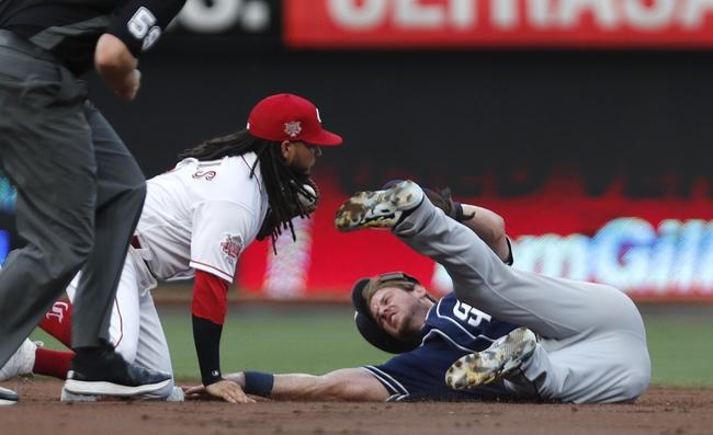 Cincinnati Reds vs. San Diego Padres - 8/20/19 MLB Pick, Odds, and Prediction