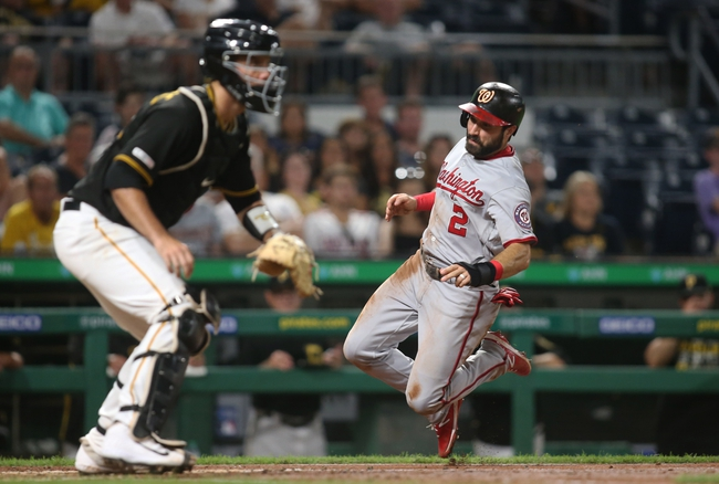 Pittsburgh Pirates vs. Washington Nationals - 8/21/19 MLB Pick, Odds, and Prediction