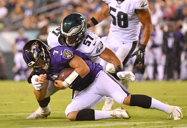 Baltimore Ravens vs. Philadelphia Eagles - 6/13/20 Madden20 NFL Sim Pick, Odds, and Prediction
