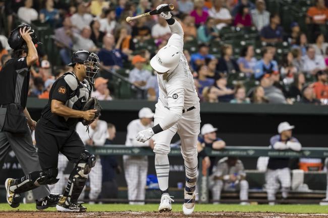 Baltimore Orioles vs. Tampa Bay Rays - 8/25/19 MLB Pick, Odds, and Prediction