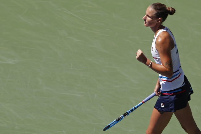 Karolina Pliskova vs. Mariam Bolkvadze - 8/28/19 US Open Tennis Pick, Odds, and Prediction
