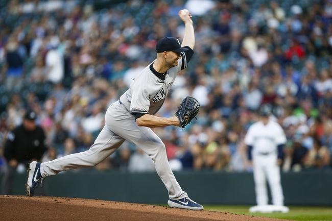 New York Yankees vs. Toronto Blue Jays - 9/20/19 MLB Pick, Odds, and Prediction