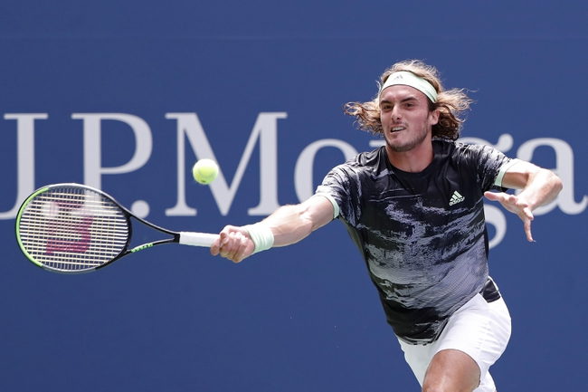 Stefanos Tsitsipas vs. Alexei Popyrin - 6/28/20 Ultimate Tennis Showdown Tennis Pick, Odds, and Prediction