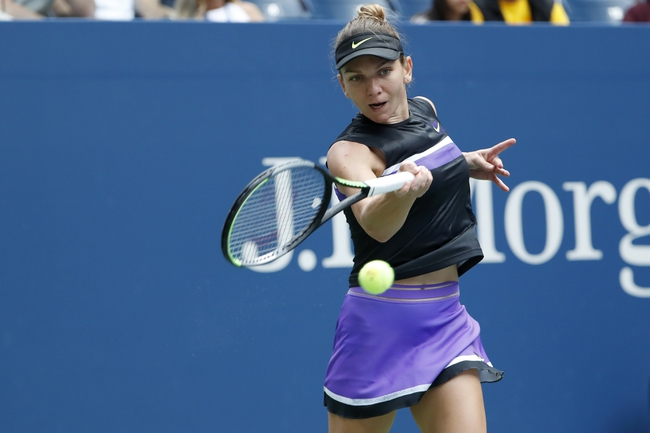 Simona Halep vs. Garbine Muguruza - 1/30/20 Australian Open Tennis Pick, Odds & Prediction