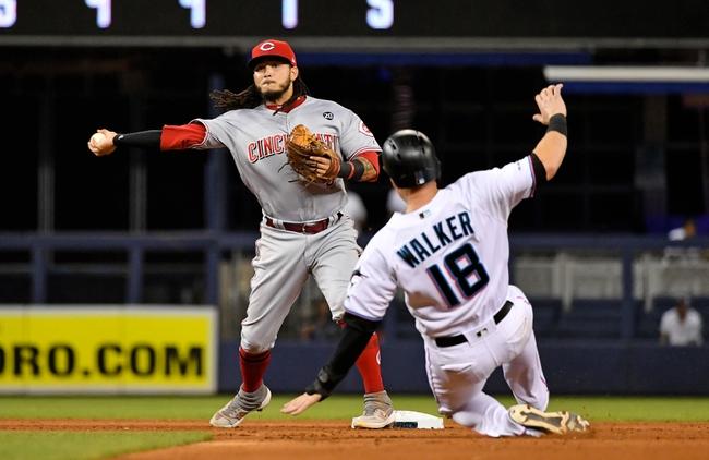 Miami Marlins vs. Cincinnati Reds - 8/29/19 MLB Pick, Odds, and Prediction