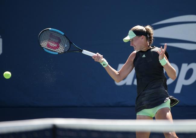 Caroline Garcia vs. Kristina Mladenovic - 9/11/19 Zhengzhou Open Tennis Pick, Odds, and Prediction