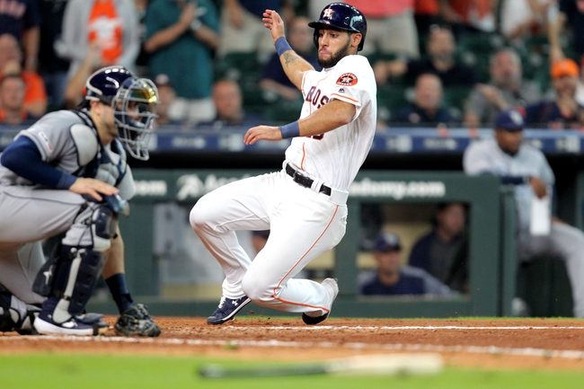 Tampa Bay Rays at Houston Astros - 10/4/19 MLB Pick, Odds, and Prediction