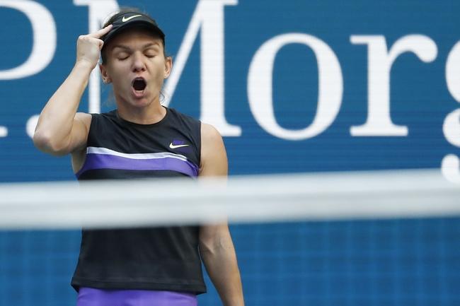 Anett Kontaveit vs. Simona Halep - 1/28/20 Australian Open Tennis Pick, Odds, and Prediction
