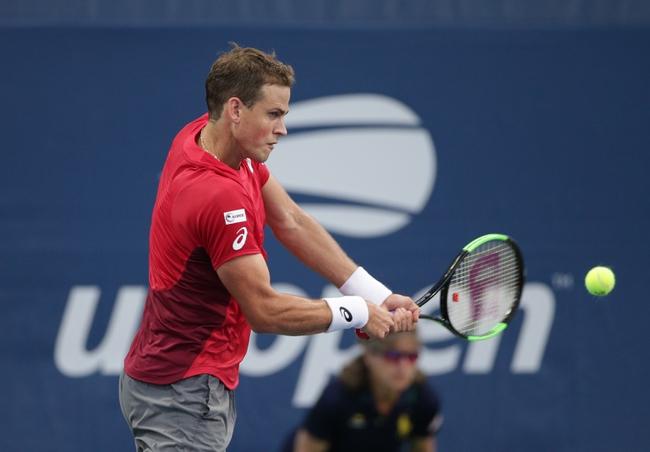 Filip Krajinovic vs. Vasek Pospisil - 2/13/2020 Rotterdam Open Tennis Pick, Odds, and Prediction