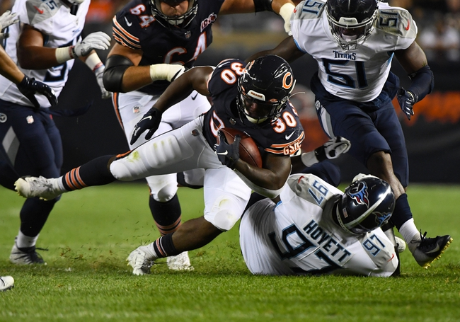 NFL Week 9 Picks: ennessee Titans vs Chicago Bears 11/8/20 NFL Picks, Predictions