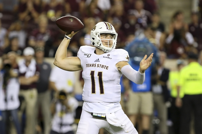 Betting Pick: Boston College vs. Texas State College Football Picks, Predictions 9/26/20