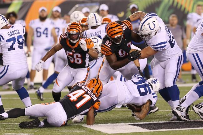 Predictions: Indianapolis Colts vs Cincinnati Bengals NFL Picks 10/18/20
