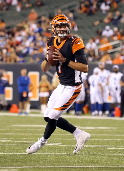 Dana Lane's Cincinnati Bengals vs. Indianapolis Colts NFL 'Table Setter'