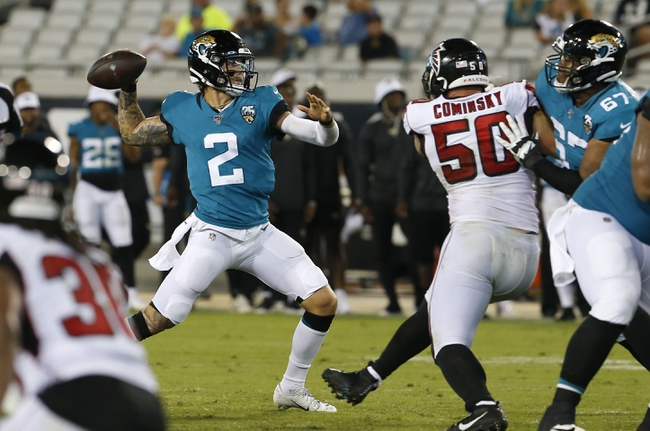 Atlanta Falcons vs. Jacksonville Jaguars - 12/22/19 NFL Pick, Odds, and Prediction