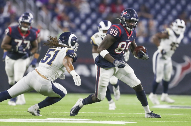 Houston Texans vs. Los Angeles Rams - 4/27/20 Madden 20 Sim NFL Pick, Odds, and Prediction