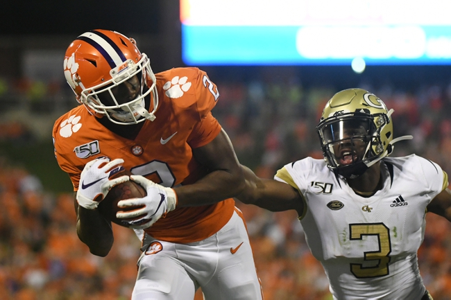 Clemson at Georgia Tech - 9/3/20 Early look College Football GOY Picks and Predictions