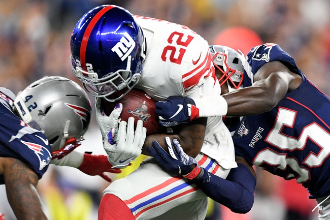 New York Giants at New England Patriots - 10/10/19 NFL Pick, Odds, and Prediction