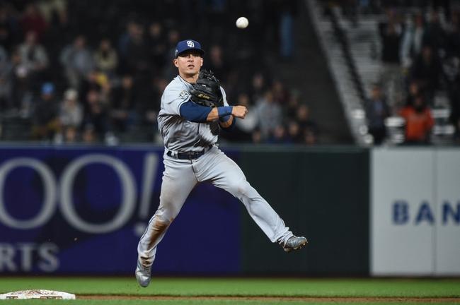 San Francisco Giants vs. San Diego Padres - 8/30/19 MLB Pick, Odds, and Prediction
