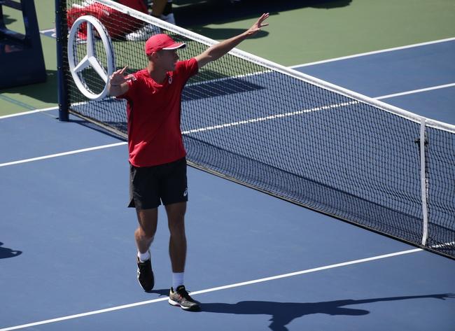 Adrian Mannarino vs. Alex De Minaur - 9/29/19 Zhuhai Tennis Pick, Odds, and Prediction