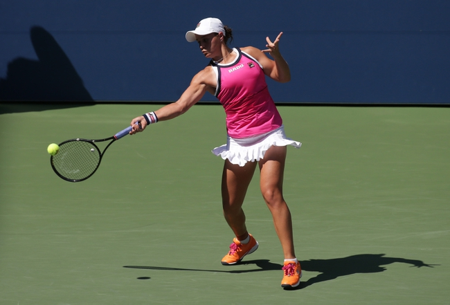 Ashleigh Barty vs. Kristina Mladenovic - 11/10/19 Fed Cup Tennis Pick, Odds, and Prediction