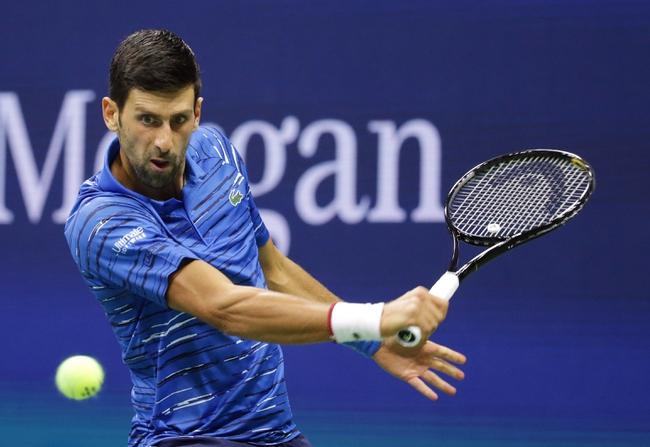 Novak Djokovic vs. Matteo Berrettini - 11/10/19 ATP Finals Tennis Pick, Odds, and Prediction