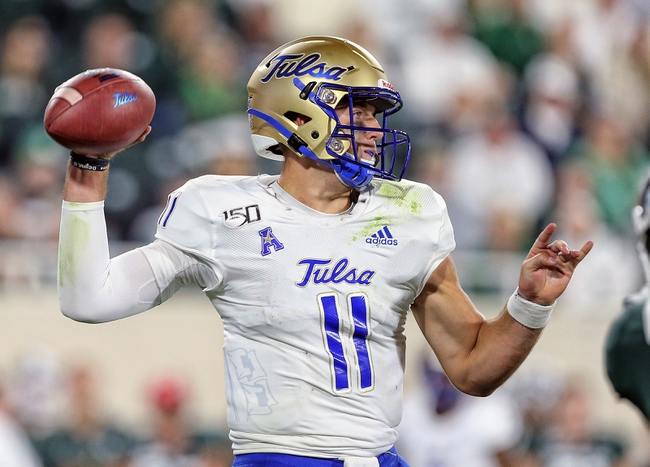 Tulsa vs. Wyoming - 9/21/19 College Football Pick, Odds, and Prediction